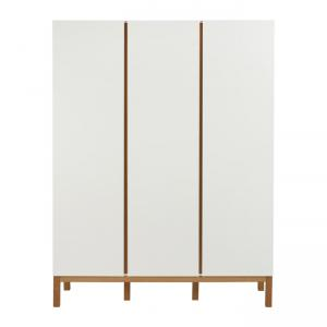 Quax - 54045414-3D - Armoire Indigo 3 portes Indigo - blanc (368782)