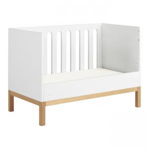 Quax - 54014714 - Lit bébé Indigo - blanc 60*120 (368808)