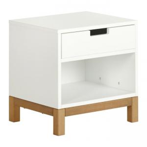 Quax - 54052114 - Table de nuit Indigo - blanc (368814)