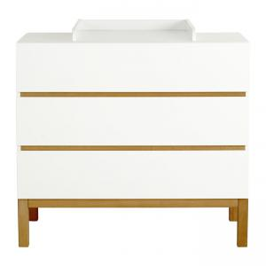 Quax - 54035514-E - Extension plan à langer pour commode Indigo - blanc (368818)