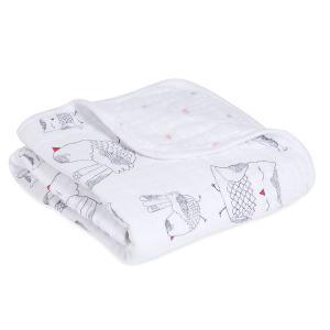 Aden and Anais - 6097G - couverture pour poussette lovebird (368852)