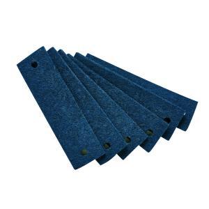 Leander - 790163-32 - Poignets en feutre, Bleu (368908)