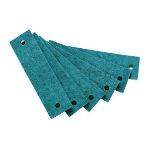 Leander - 790163-33 - Poignets en feutre, Azur pour commode 3 tiroirs Linea (368920)