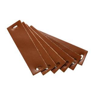 Leander - 502196 - Poignets en cuir, Marron pour commode 3 tiroirs Linea (368926)