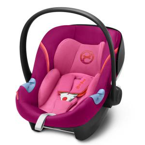 Cybex - 518000071 - Siège auto ATON M i-Size violet-Passion pink (369022)