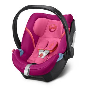 Cybex - 518000209 - Siège auto ATON 5 violet-Passion pink (369048)