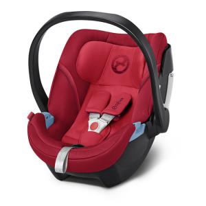 Cybex - 518000199 - Siège auto ATON 5 rouge-Rebel red (369056)