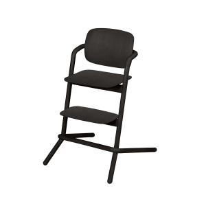 Cybex - 518001501 - Chaise haute LEMO bois noir-Infinity black (369090)