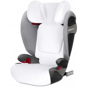Cybex - 518001005 - Housse d'été blanc pour siège auto PALLAS S-fix ou SOLUTION S-fix (369204)