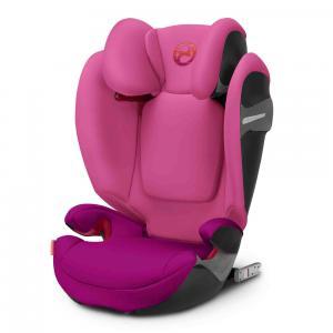 Cybex - 518000961 - Siège auto SOLUTION S-fix violet - Passion pink (369210)