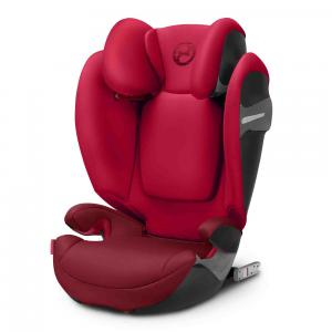 Cybex - 518000951 - Siège auto SOLUTION S-fix rouge-Rebel red (369220)