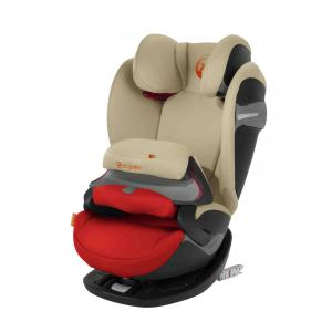 Cybex - 518000931 - Siège auto PALLAS S-fix orange-Autumn gold (369254)