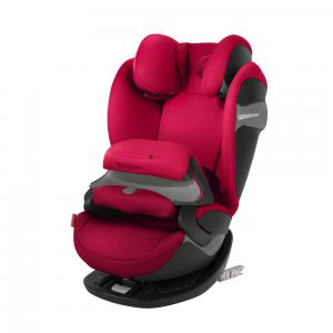 Cybex - 518000923 - Siège auto PALLAS S-fix rouge-Rebel red (369262)
