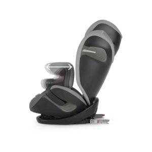 Cybex - 518000921 - Siège auto PALLAS S-fix noir-Lavastone black (369264)