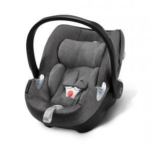 Cybex - 518000159 - Siège auto ATON Q Plus i-Size gris-Manhattan grey (369368)