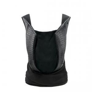 Cybex - 518000655 - Porte-bébé Yema Click Cuir noir-Stardust black (369386)