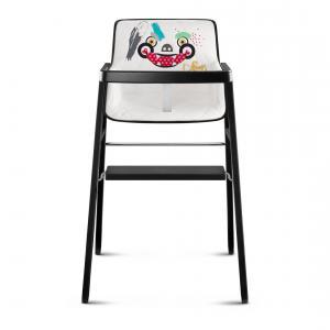 Cybex - 517000259 - Chaise haute Graffiti blanc (369388)