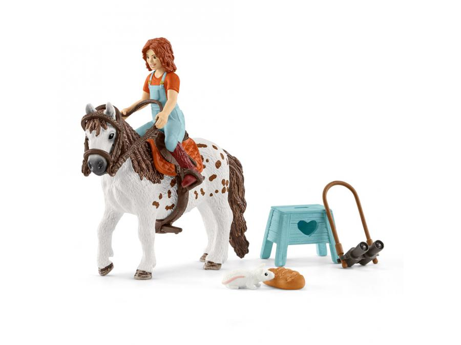 schleich horse club mia spotty 24 5 cm x 5 2 cm x 19 cm. Black Bedroom Furniture Sets. Home Design Ideas