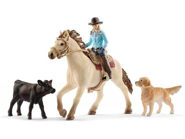 Figurine ferme western