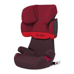 Cybex - 514116003 - Siège auto SOLUTION X-FIX Rumba Red - rouge foncé (369992)