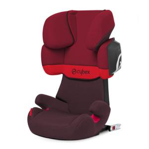 Cybex - 515117005 - Siège auto SOLUTION X2-FIX Rumba Red - rouge foncé (370000)