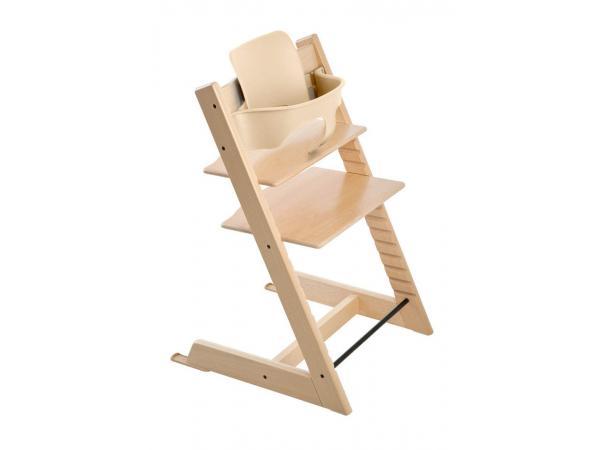Stokke chaise haute tripp trapp naturel personnalisable - Chaise haute tripp trapp ...