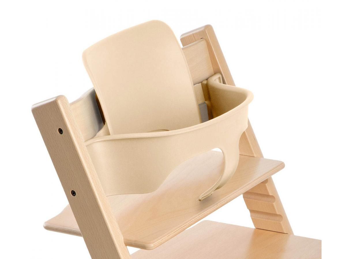 Stokke chaise haute tripp trapp naturel personnalisable for Chaise haute stokke prix