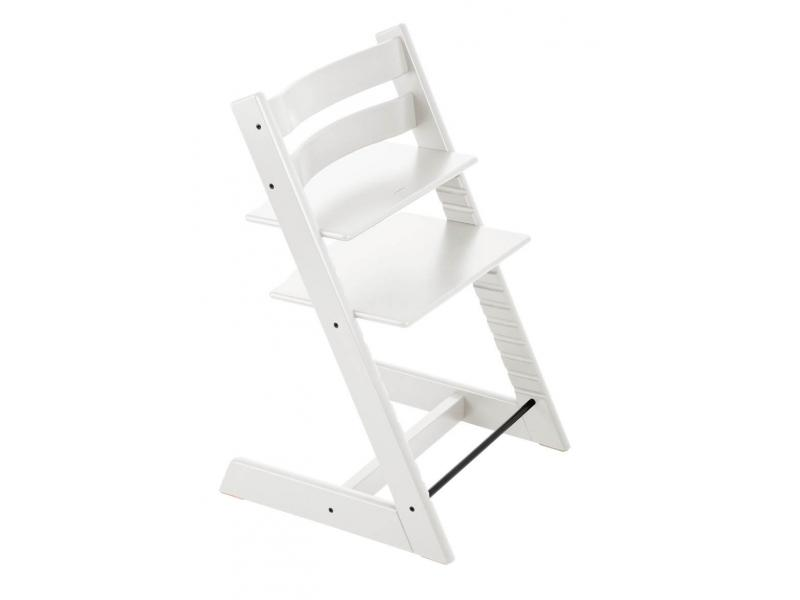 stokke chaise haute tripp trapp blanc personnalisable. Black Bedroom Furniture Sets. Home Design Ideas