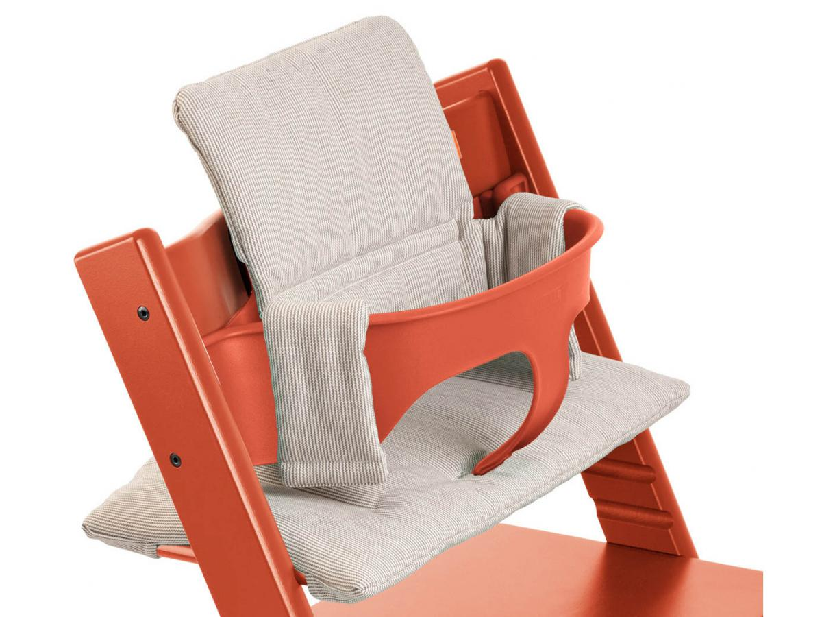 Stokke chaise haute tripp trapp lava orange for Chaise haute stokke