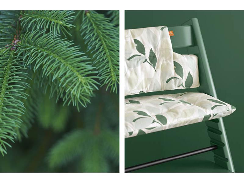 stokke chaise haute tripp trapp vert mousse personnalisable. Black Bedroom Furniture Sets. Home Design Ideas