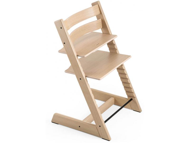 stokke chaise haute tripp trapp ch ne blanc personnalisable. Black Bedroom Furniture Sets. Home Design Ideas