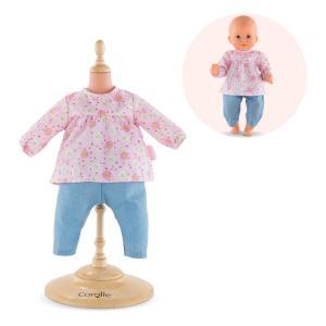 Corolle - FPP37 - Blouse & pantalon pour bébé 30 cm à partir de 18 mois (371282)
