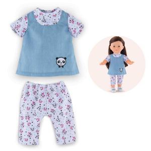Corolle - FPP48 - Ma corolle blouse & legging panda party - taille 36 cm à partir de 4 ans (371402)