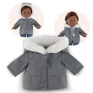 Corolle - FPK41 - Ma Corolle parka grise - taille 36 cm - âge : 4+ (371414)