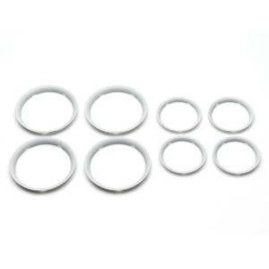 Bugaboo - 230260WH01 - Enjoliveurs BLANC pour poussette Fox (371544)