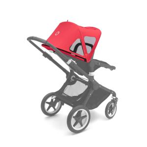 Bugaboo - 230312NR01 - Bugaboo Fox/Cameleon3 capote à fenêtres Rouge Neon (371574)