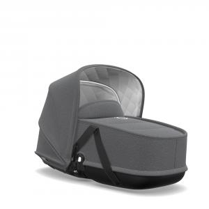 Bugaboo - 500228AE01 - Bugaboo Bee5 classique habillage nacelle Gris chiné (371620)