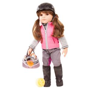 Gotz - 1859087 - Poupée 50 cm - Hannah loves horseback riding, 20-pcs. (371800)