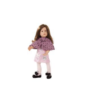 Gotz - 1866554 - Poupée articulée 50 cm - Happy Kidz Laura, cheveux châtains, yeux bruns (371802)