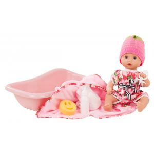 Gotz - 1853136 - Baigneurs 33 cm - Sleepy Aquini girl, strawberry fields, 9-pcs. (371824)