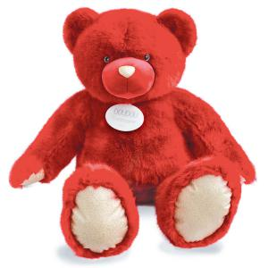 Histoire d'ours - DC3417 - Les Ours Collection by Doudou et Compagnie - OURS COLLECTION 120 cm - Rubis (372302)