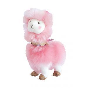 Histoire d'ours - HO2801 - Lama rose - 20 cm (372334)