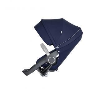 Stokke - 509703 - Nouveau siège de poussette Bleu Profond compatible avec les nouveaux chassis Trailz et Xplory V6 (372392)