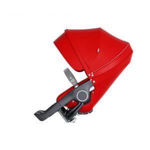 Stokke - 509705 - Nouveau siège de poussette Rouge compatible avec les nouveaux chassis Trailz et Xplory V6 (372396)