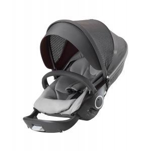 Stokke - 281221 - Siège de poussette Athleisure Gris compatible avec les chassis Trailz™, Xplory® et Crusi™ (372460)