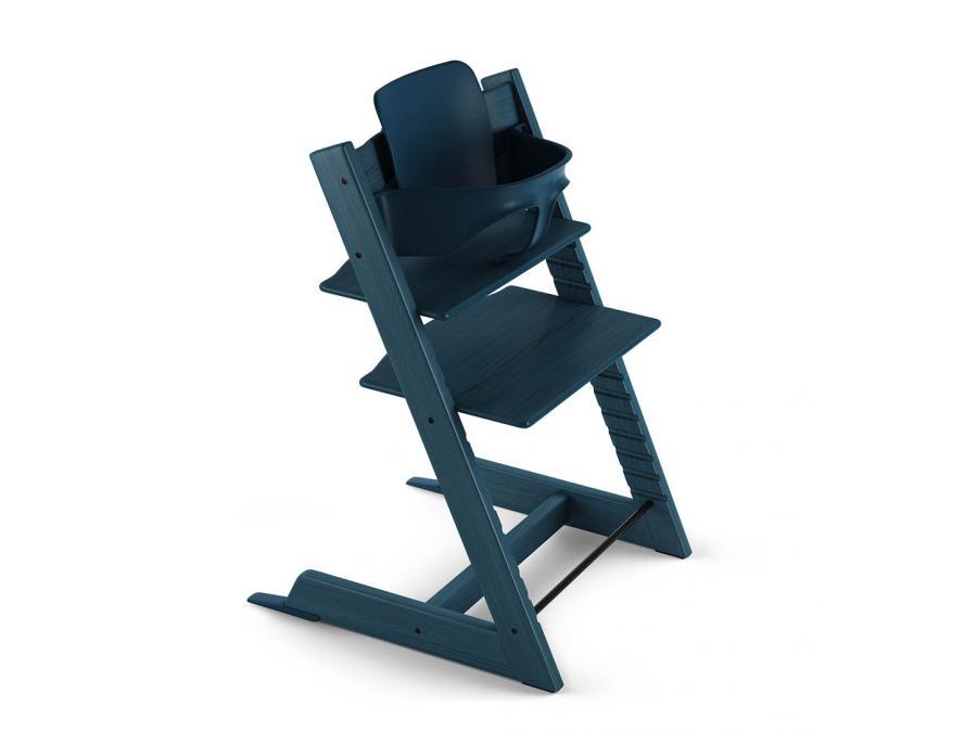 stokke accessoire baby set couleur bleu nuit pour chaise tripp trapp. Black Bedroom Furniture Sets. Home Design Ideas
