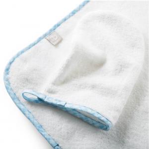 Stokke - 253705 - Cape de bain et gant de toilette Coton Biologique Bleu ocean (372568)