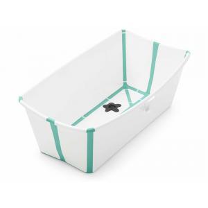 Stokke - 328810 - Baignoire compacte FlexiBath Blanc  Aqua (372592)