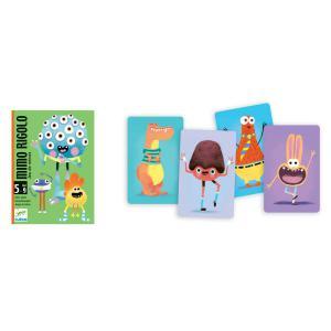 Djeco - DJ05138 - Jeux de cartes -  Mimo Rigolo * (372714)