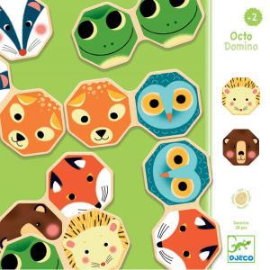 Djeco - DJ01649 - Jeux éducatifs bois -  Octo Domino * (372740)